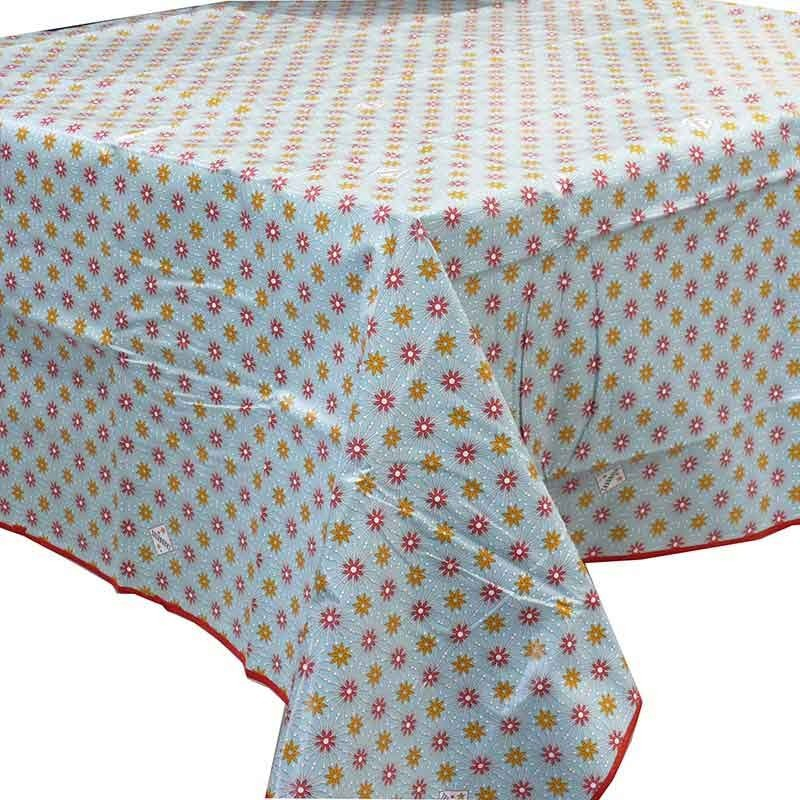 Nappe toile rectangle decor ciree - Nappe toile ciree rectangulaire ...