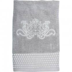 Serviette de toilette Douce Arabesque grise
