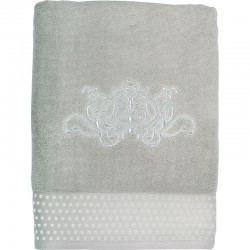 Serviette invité Douce Arabesque grise
