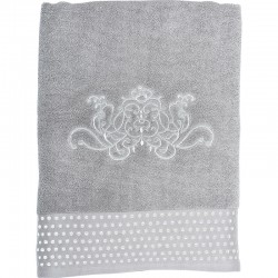 Serviette de bain Douce Arabesque grise
