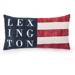 Coussin rectangulaire drapeau LEXINGTON