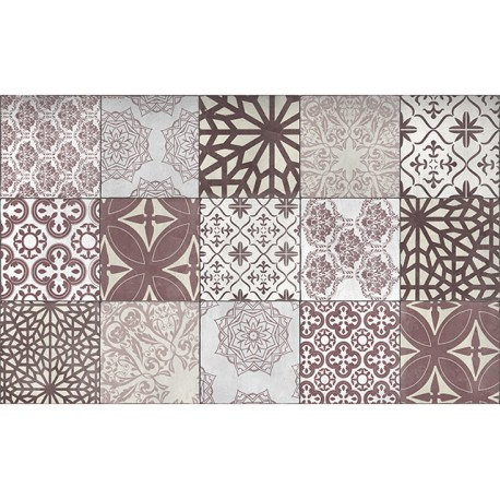 Tapis Carpette Decore Carreaux Ciment