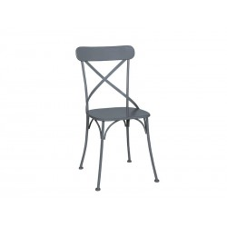Chaise metal anthracite