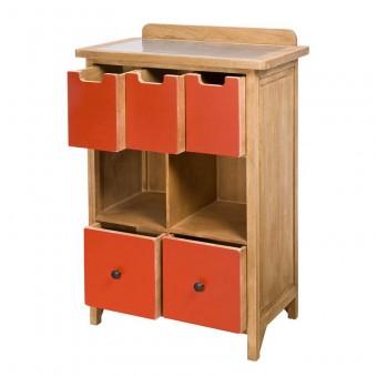 Table ronde metal noire