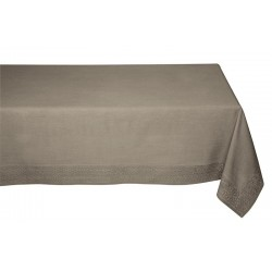 Nappe rectangle taupe ADELIE