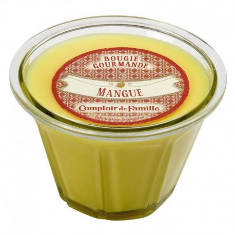 Bougie gourmande Mangue