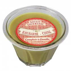 Bougie gourmande Rhubarbe Coing