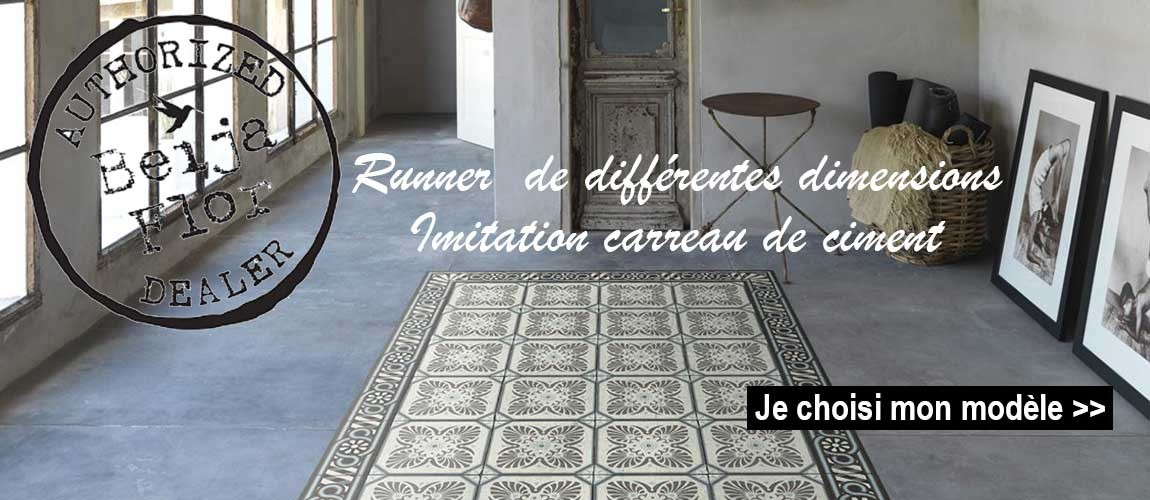 Tapis, runner, set de table, crédences...